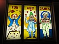 Avalon Theatre, clowns, Portland OR 2012.JPG