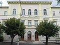 Avant-corps. University of Pannonia, Georgikon Faculty, building A corner in Keszthely, 2016 Hungary.jpg