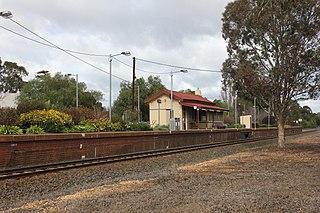 Avenel railway station, Victoria