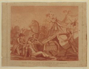 Jean-François Pilâtre de Rozier - Fatal accident at Wimereux, 15 June 1785.