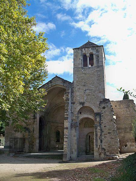 Abbaye de Saint Ruf à Avignon vue géérale