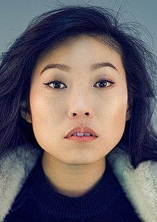 Awkwafina actress and rapper from New York