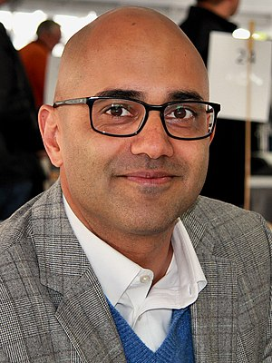 Ayad Akhtar - Akhtar at the 2012 Texas Book Festival.