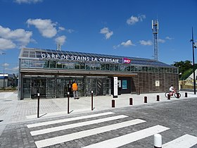 Image illustrative de l'article Gare de Stains-La Cerisaie