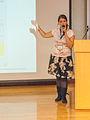 Béria Lima Wikimania 2013 Presentation 2.jpg