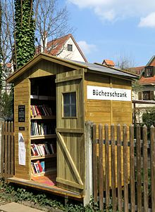 öffentlicher Bücherschrank Wikipedia