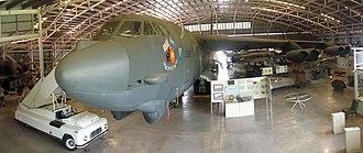 Australian Aviation Heritage Centre - Boeing B-52G bomber on display at the Australian Aviation Heritage Centre