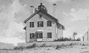 West Dennis Light - The original building before enlargement