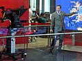 BBC weather forecast from Broadcasting House newsroom (cropped).jpg