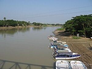 Someshwari River - Someshwari River in Netrakona district of Bangladesh