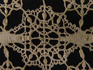 Bobbin lace Italy, Genoa 1600-25
