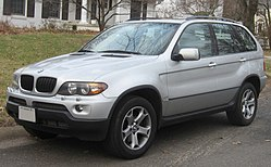 BMW X5 (E53) po faceliftu