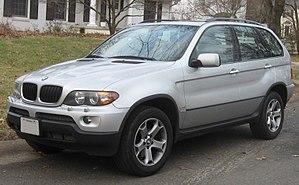 BMW X5 - Image: BMW X5