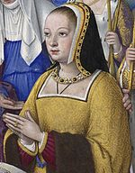 Anne of Brittany, by Jean Bourdichon.