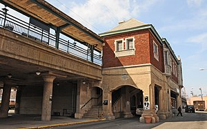 Brick Church station - Image: BRICK CHURCH STATION, EAST ORANGE, ESSEX COUNTY