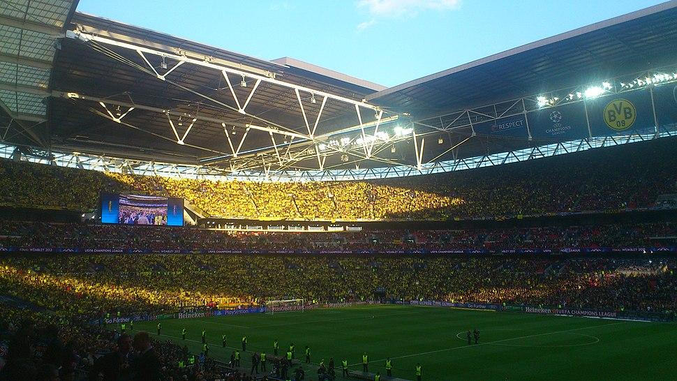 BVB-Fans in Wembley