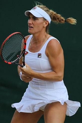 Tímea Babos - Babos at the 2017 Wimbledon Championships
