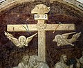 Badia a settimo, refettorio dell'abate, crocifissione di agnolo gaddi, 02.jpg