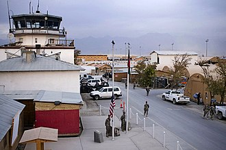 Bagram Airfield - Veterans Day at the base in 2008