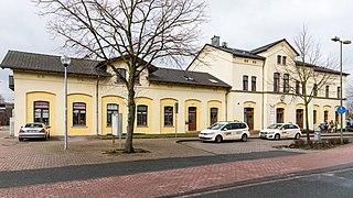 Greven Place in North Rhine-Westphalia, Germany