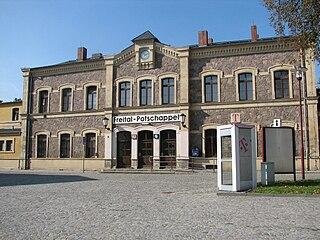 Freital-Potschappel station railway station in Freital, Germany