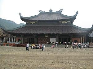 Bái Đính Temple - Image: Bai Dinh Dien Phap Chu