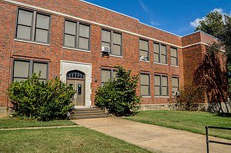 National Register of Historic Places listings in Greene County, Missouri - Image: Bailey School