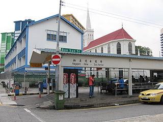 Singapore to Malaysia Taxi Terminal Ban San Street