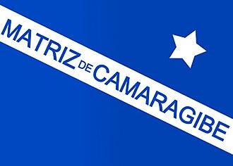 Matriz de Camaragibe - Image: Bandeira de matrizdecamaragibe