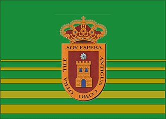 Espera - Image: Bandera Espera