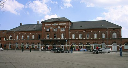 How to get to Kolding Station with public transit - About the place