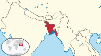 Bangladesh in its region.svg