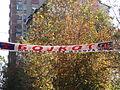 Banner Urging Boycott of November 2013 Municipal Elections - Mitrovica (Serb Side) - Kosovo - 01.jpg
