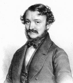 Barabás Erkel 1845