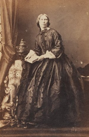 Frederick Grey - Barbarina Charlotte (née Sullivan), Lady Grey, 1861, by Camille Silvy