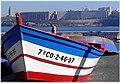 Barca coa Torre de Hércules ó fondo.jpg