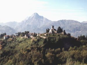 David Baldacci - View of Barga, Italy, where Baldacci's ancestors lived