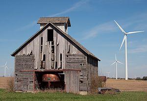 Barn wind turbines