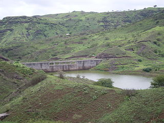 Ribeira Seca (Santiago) stream in Cape Verde