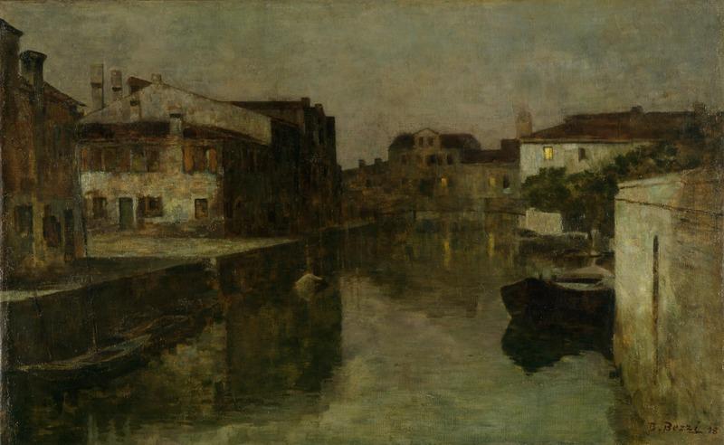 Bartolomeo Bezzi – Venezia che dorme