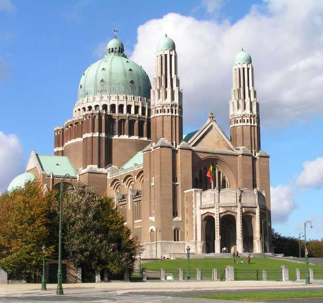 Basilica of the Sacred Heart, Brussels, Belgium.