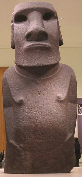 Файл:Basalt statue known as 'Hoa Hakananai'a', Easter Island, c. 1400, Tate Britain.JPG