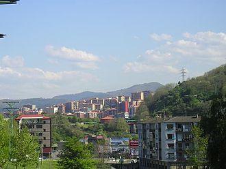 Basauri - Basauri from Bolueta