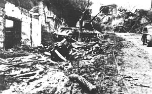 Battle of Batina - Batina after the battle, November 30, 1944