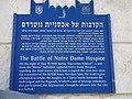Battle of Notre Dame Hospice memorial plaque.jpg