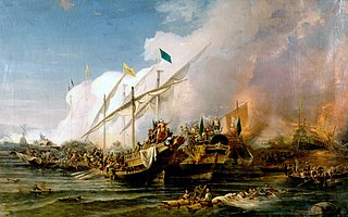 Battle of Preveza 1538 naval battle