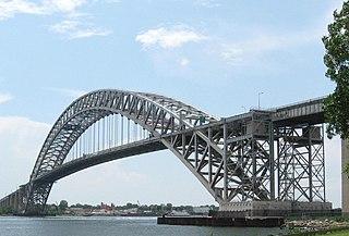 Through arch bridge