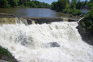 Valatie, New York - Beaver Mill Falls