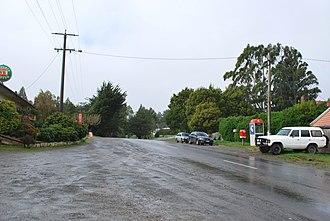 Beech Forest, Victoria - Main street