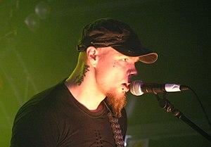 Before the Dawn (band) - Tuomas Saukkonen at Tuska Open Air 2008